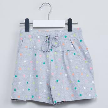MAX Polka Print Shorts