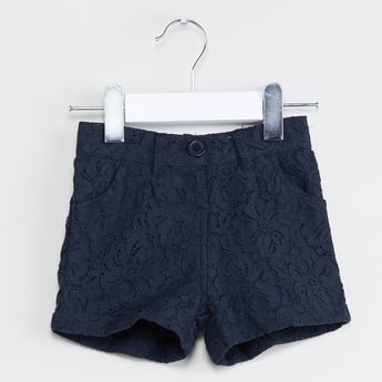 MAX Floral Lace Shorts