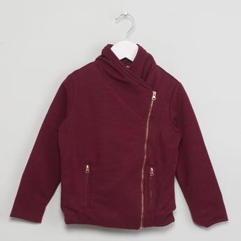 MAX Long Sleeve Zip-Up Jacket