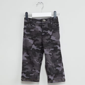 MAX Camouflage Print Jeans