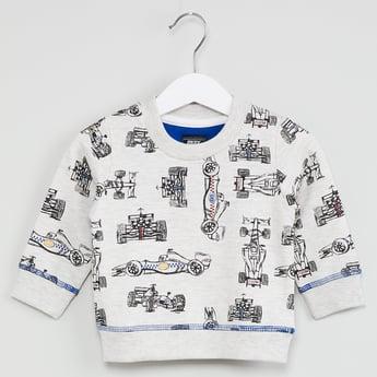 MAX Graphic Print Sweatshirt