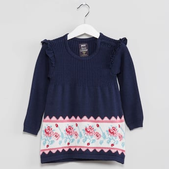 MAX Knitted Ruffle Sweater