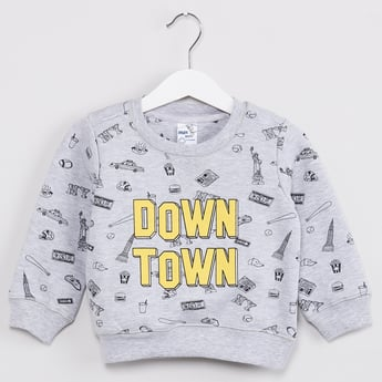 MAX Down Town Full Sleeves Sweatshirt