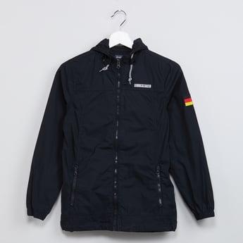 MAX Houston Print Hooded Jacket