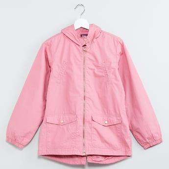 MAX Zip-Up Hooded Jacket