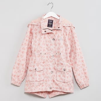 MAX Buttoned Hooded Jacket