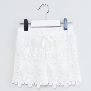 MAX Lace A-line Skirt