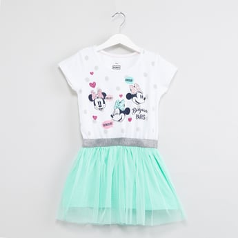 MAX Minnie Print Tutu Dress