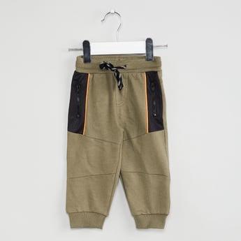 MAX Panelled Zipper Detail Joggers