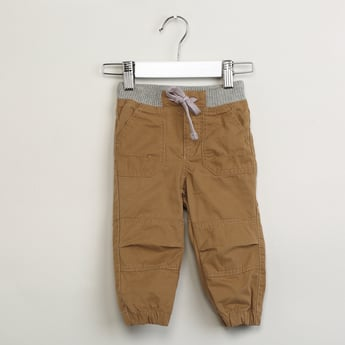 MAX Solid Panelled Trackpants