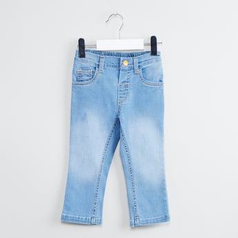 MAX Lightly Washed 5-Pocket Slim Jeans