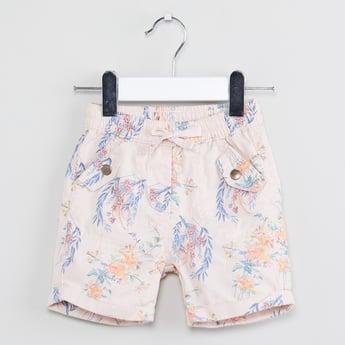 MAX Printed Flap Pocket Shorts