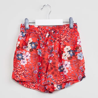 MAX Floral Print Shorts