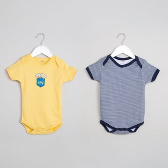 MAX Short Sleeves Pack of 2 Bodysuits