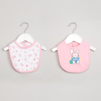 MAX Pack of 2 Printed Bibs