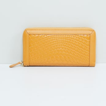 MAX Textured Zip-Around Wallet