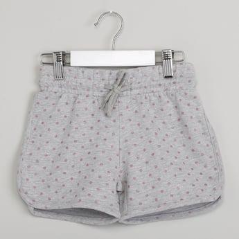 MAX Polka-Dot Print Dolphin Shorts