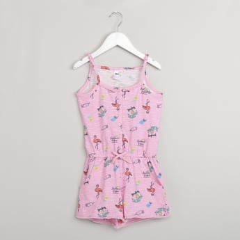 MAX All-Over Print Sleeveless Playsuit