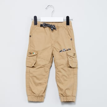MAX Embroidered Cargo Joggers