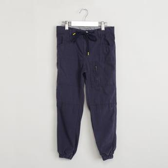 MAX Drawstring Waist Jogger Trousers
