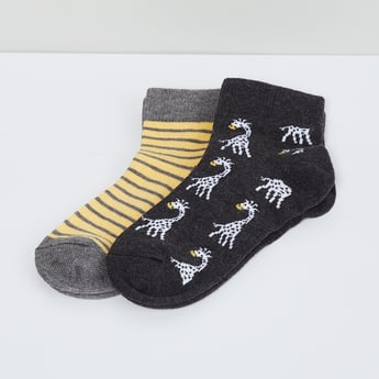 MAX Printed Sports Socks - 2 Pcs.