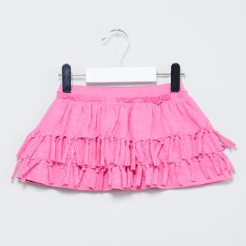 MAX Tasselled Tiered Skirt