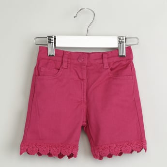 MAX Lace Flat-Front Shorts