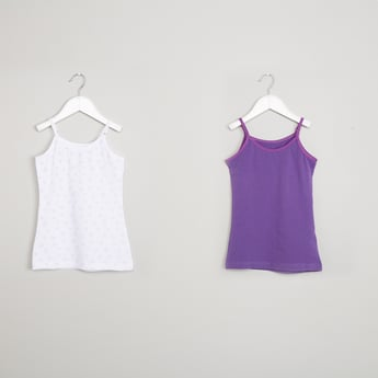 MAX Solid Pack of 2 Camis