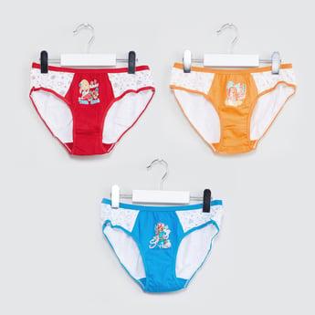 MAX Printed Colourblock Panties - Pack of 3 Pcs.