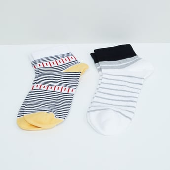 MAX Striped Socks - Pack of 2