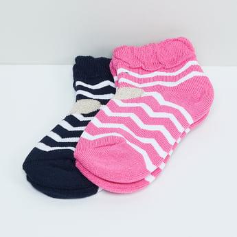 MAX Chevron Print Socks - Pack of 2