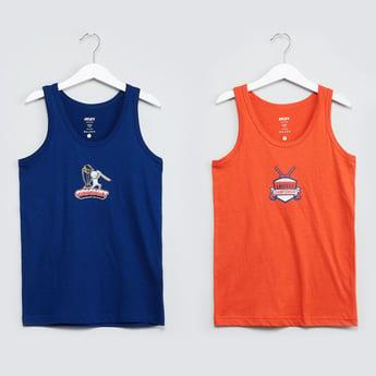 MAX Cricket Print Fashion Vests