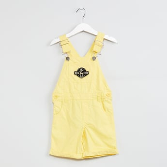MAX Solid Woven Dungaree