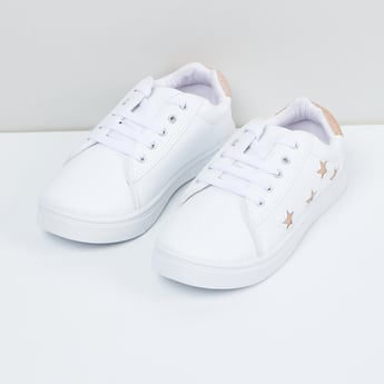 MAX Star Detailed Lace-Up Shoes
