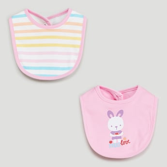 MAX Printed Bib- Set of 2 Pcs.