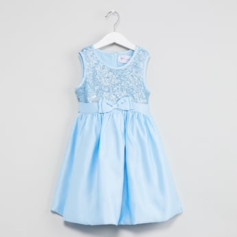 MAX Sequinned Sleeveless Dress
