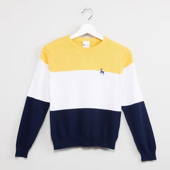 MAX Colourblocked Sweater