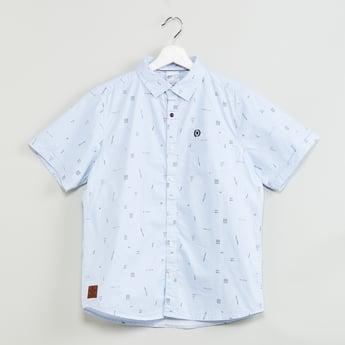 MAX Printed Short Sleeves Shirt