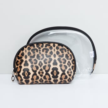 MAX Animal Print Pouch - Set of 2 Pcs.