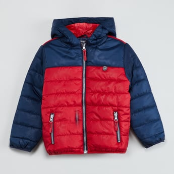 MAX Colorblocked Puffer Jacket
