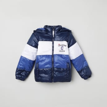 MAX Colourblocked Puffer Jacket