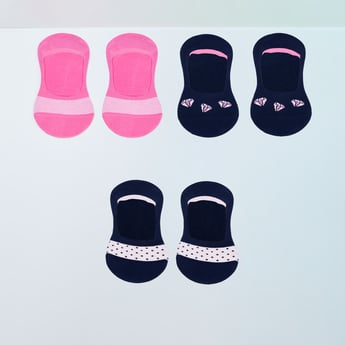 MAX Printed No-Show Socks - Pack of 3 Pcs.