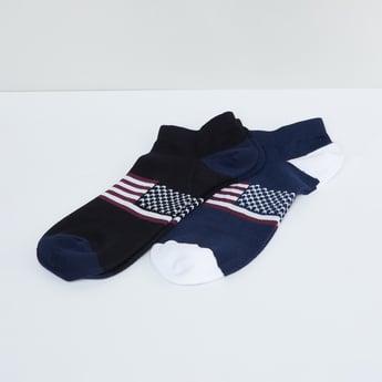 MAX Printed Ankle Socks - Pack of 2
