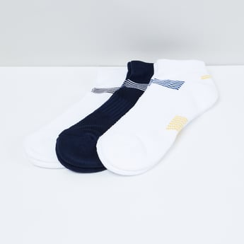 MAX Striped Elasticated Socks - Pack of 3