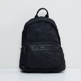 MAX Solid Quilted Backpack