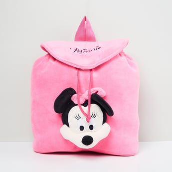 MAX Minnie Mouse Textured Backpack
