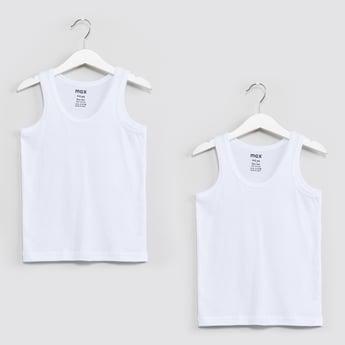 MAX Solid Vest- Pack of 2 Pcs.