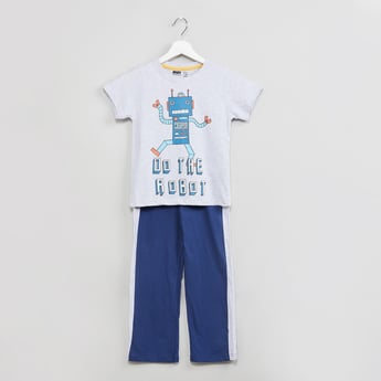 MAX Printed T-shirt with Pants