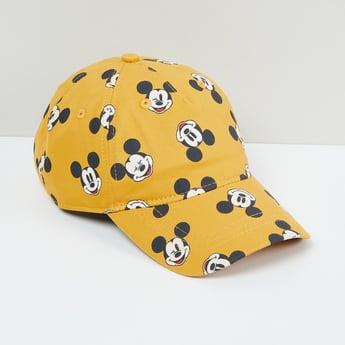 MAX Mickey Mouse Print Baseball Cap