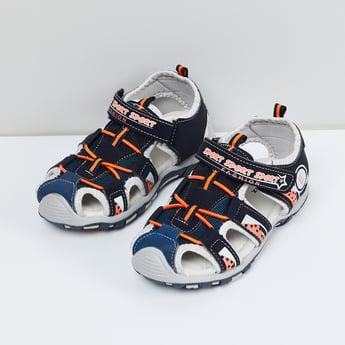 MAX Textured Velcro Sandals